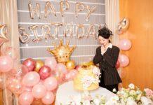 Triệu Lệ Dĩnh mừng sinh nhật 2019